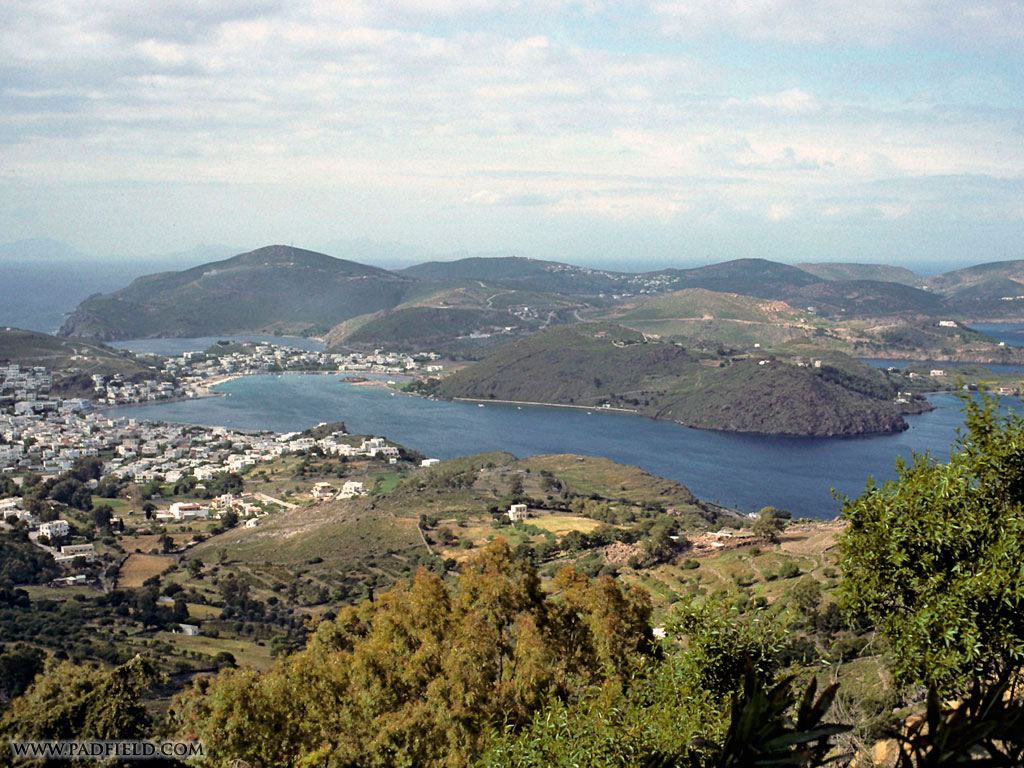 Patmos, Greece | Apostle John wrote the Book of Revelation