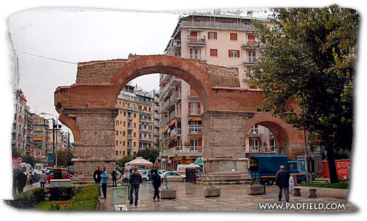 Arch Of Galerius At Thessalonica