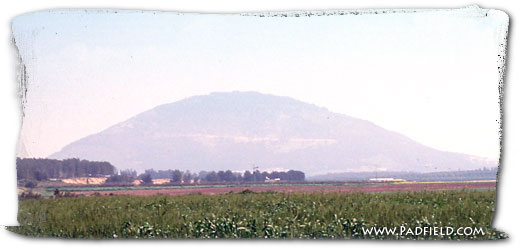 Mount Tabor in Israel