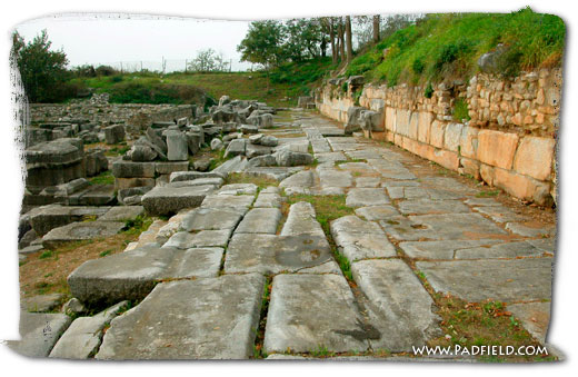 Via Egnatia At Philippi in Greece