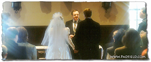 Wedding vows, sermons, ceremony