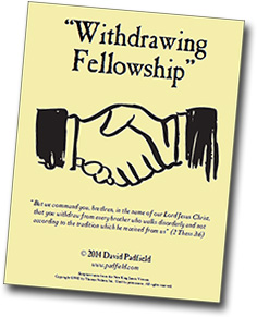 withdrawing fellowship